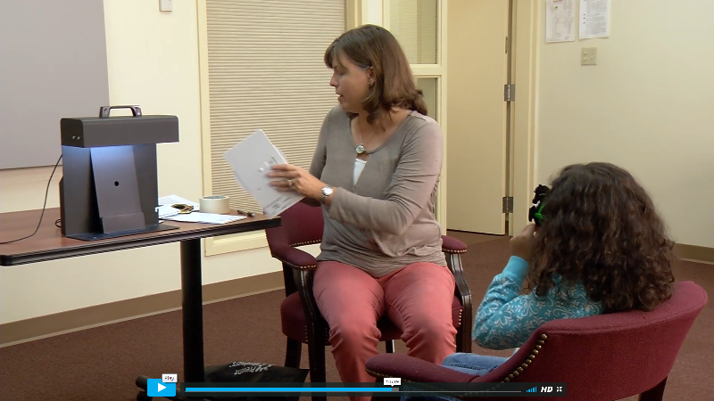 Prevent Blindness Children's Vision Screening Certification Course Video - Screenshot