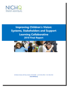 Improving Children's Vision Report Cover