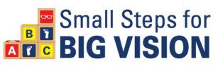 Small Steps for Big Vision logo