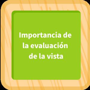 Importancia de la evaluación de la vista