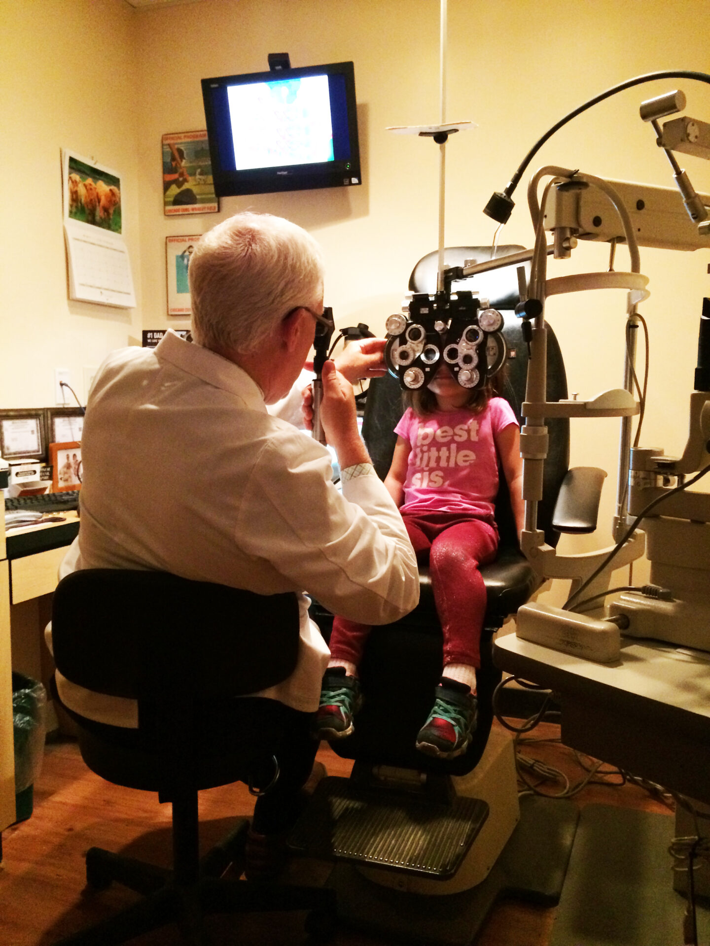 A Child's Eye Exam