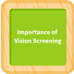 Importance of Vision Screening